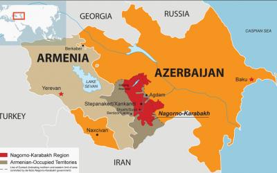 Spanningen tussen Armenië en buurland Azerbeidzjan